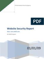 Report Web Audit