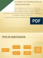 MODELOS PARA EL DISEÑO DE INVESTIGACIONES EN CIENCIAS