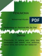 Lapkas Pneumonia Radiologi