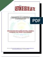 Plan General de Gestión de Uso de TICs