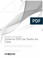 Manual de cine en casa LG