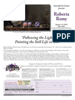 """""""Following the Light- Painting the Still Life in Oils"""" with Roberta Remy"""