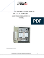 RPT9000 Manual 1900Mhz