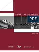 TransLink Governance Review