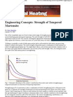Strength of Tempered Martensite