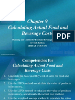Beverage Cost.