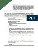 Petunjuk Tugas Besar MK Kimia Lanjut