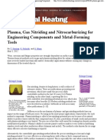 Plasma, Gas Nitriding and Nitrocarburizing for Engineering Components and Metal-Forming Tools
