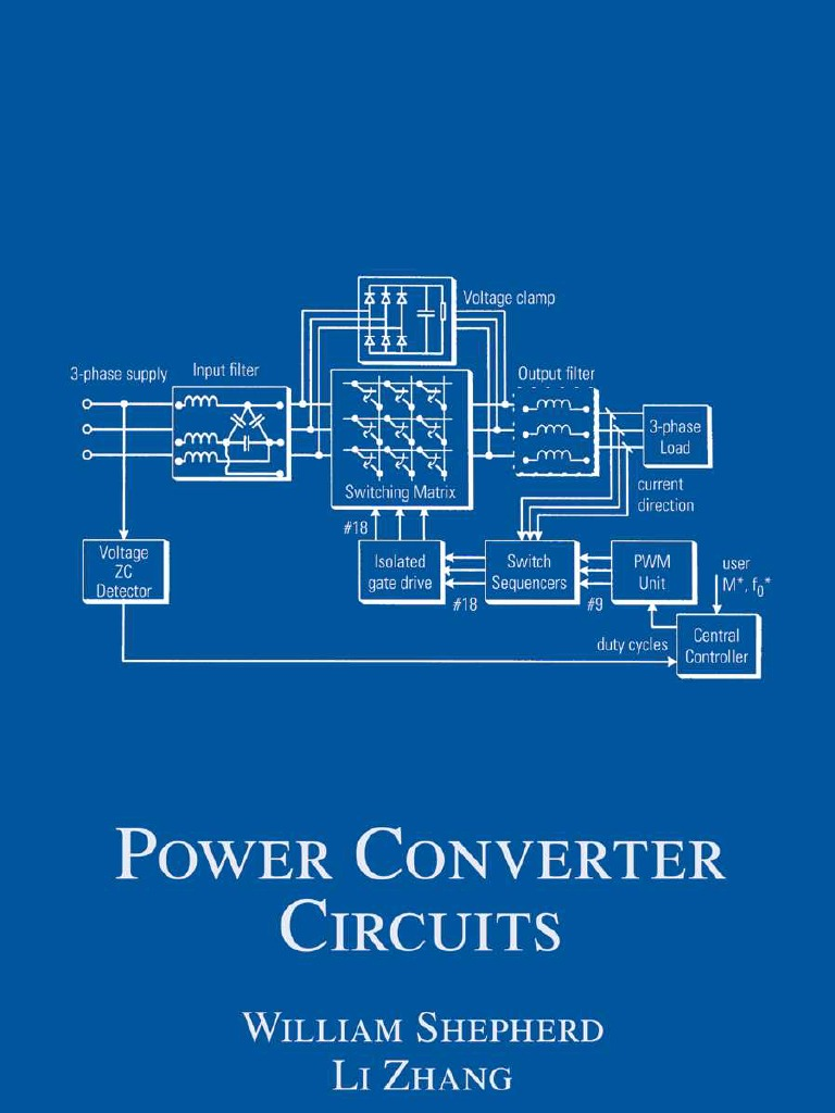 Power Converter Circuit by William Shepherd, Li Zhang | Rectifier ...