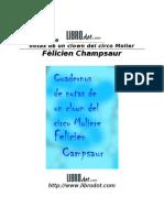 Champsaur Felicien - Cuaderno de Notas de Un Clown Del Circo Molier [Doc]