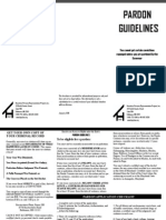 Pardon Guidelines 2013