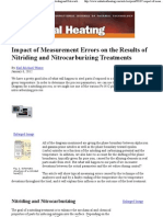 Impact of Measurement Errors on the Results of Nitriding and Nitrocarburizing