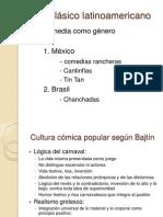 Clase 4 Cine clásico latinoamericano - Comedias