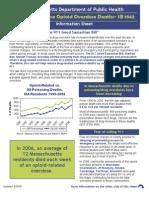 Massachusetts Dept of Public Health Info Sheet