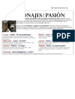 Dinamica_Personajes de La Pasion