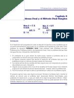 Capitulo8 El Probelma Dual y Metodo Dual Simplex