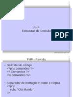 10 - PHP - Estrutura de Decisao