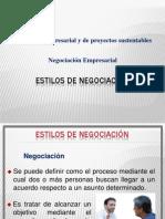 2 ESTILOS DE NEGOCIACIÓN