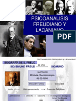 Psicoanalisis Freudiano y Lacaniano