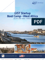 GIST Startup Boot Camp West Africa - July 2012