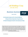 Business Summary Kat Gold Holding Corp BVIG