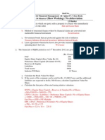 PGDM 2012 FM-II Quiz 4 Solution