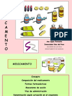 Clase Formas Farmaceuticas Curso Farmacologia
