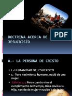 Doctrina Acerca de Jesucristo