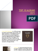 Top 10 Albums 1971-Baby Boomer Generation