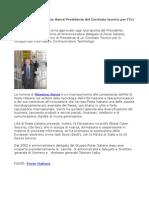 Massimo Sarmi, Confindustria, nomina presidente comitato tecnico Ict