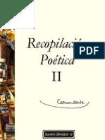 Conde, Carmen - Recopilacion Poetica II eBook