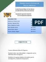 Primer Avance(Proyectos- Grupo 4)