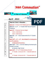 April Newsletter 2012-13
