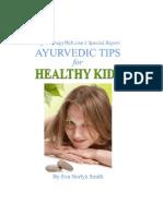Ayurvedic Guide to Healthy Kids