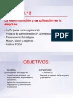 Clase 2 - Gestión y Dirección Empresarial