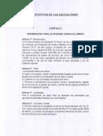 Estatutos Del AMPA Del CEIP SAN LORENZO (Aprobados El 17-12-2007)