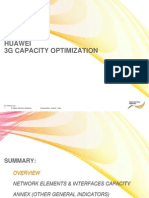 3G Huawei Capacity Optimization Process