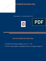 Aurora Desio 1922 Football Innovation Day