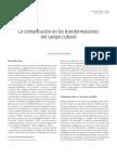 3. MARTÍN BARBERO. La comunicación en las transformaciones en el campo cultural