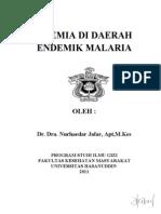 Anemia Di Daerah Endemik Malaria