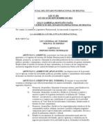 Ley Nº 292 General de Turismo Bolivia Te Espera.doc