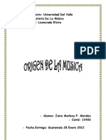 Los Orígenes De La Música En La Prehistoria