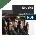 Brochure Erudite