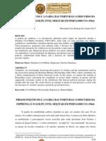 Presos políticos e a farsa das torturas o discurso da imprensa e o golpe civil-militar em Pernambuco (1964)