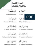Do'a Pembuka Dan Penutup Majlis