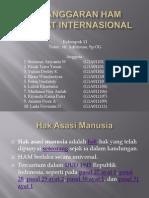 Pelanggaran HAM Tingkat Internasional