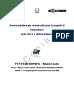 DGR 404 2012 Micro Innovazione