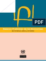 Balance Prelimina r 2012