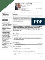 Andreas Abel, Ph.D. VisualCV Resume