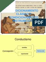 CONDICIONAMIENTO CLÁSICO Y CONDICIONAMIENTO INSTRUMENTAL